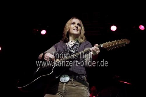 Amerikanische Singer/Songwriterin Melissa Etheridge auf