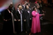 "Queen Esther Marrow und The Harlem Gospel Singers mit Band gastieren auf ihrer ""Life is a morning"