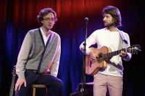Norwegisches Indie-Pop-Duo Kings Of Convenience gastiert auf ihrer ?The Unrecorded Record?-Tour in der Kulturkirche Köln (© Thomas Brill)