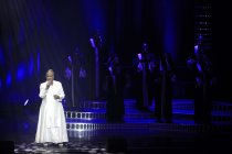 Amerikanische Gospel-Sängerin Queen Esther Marrow gastiert mit The Harlem Gospel Singers und Band auf ihrer ?Bring it on!?-Tour im Musical Dome/Oper am Dom Köln (© Thomas Brill)